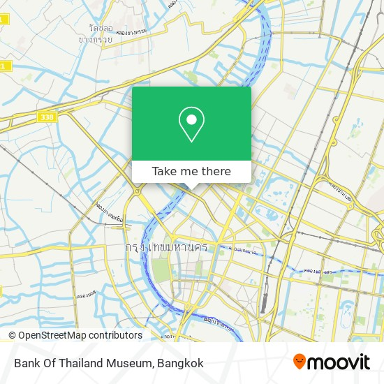 Bank Of Thailand Museum map