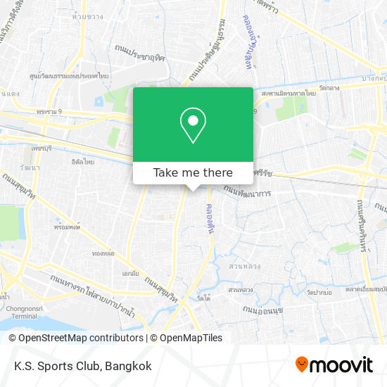 K.S. Sports Club map