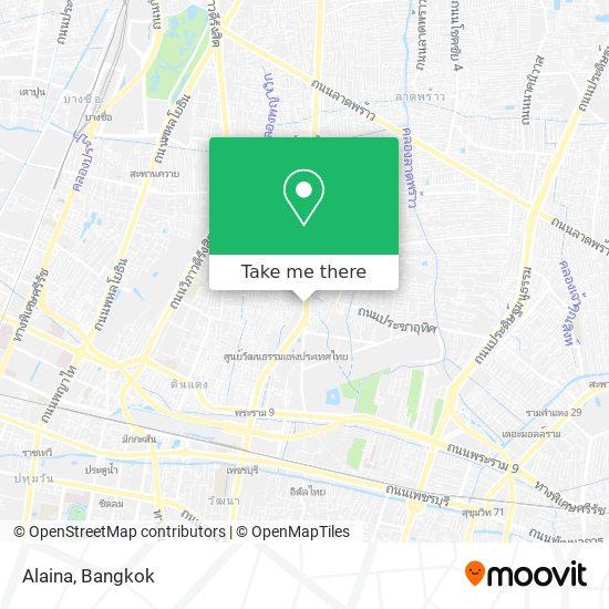 Alaina map