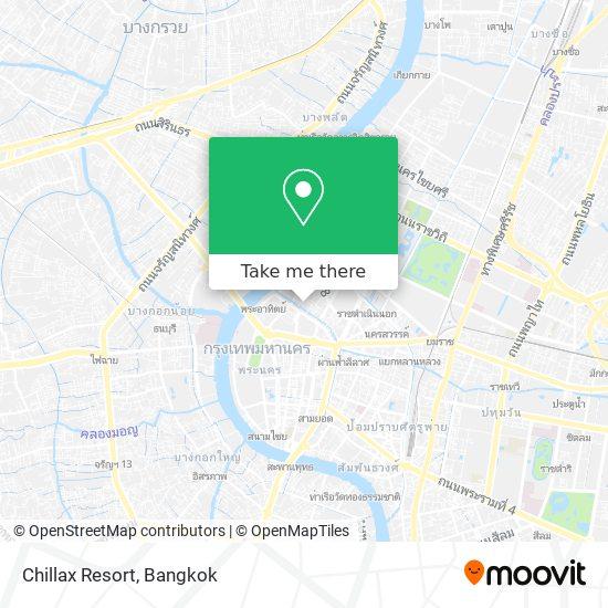 Chillax Resort map