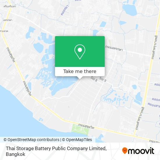 Thai Storage Battery Public Company Limited map