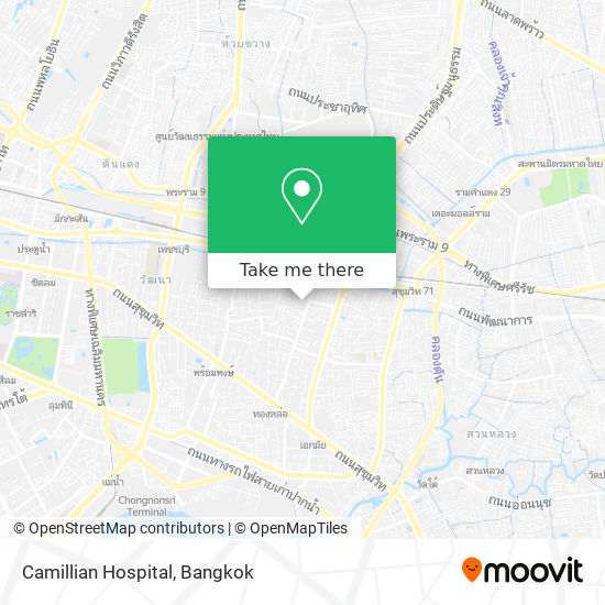 Camillian Hospital map