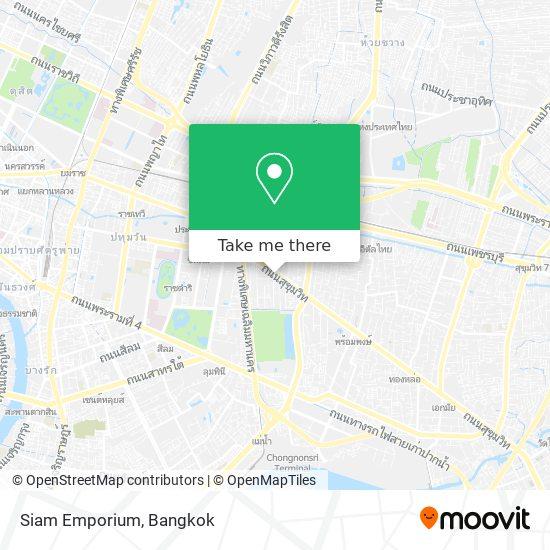 Siam Emporium map