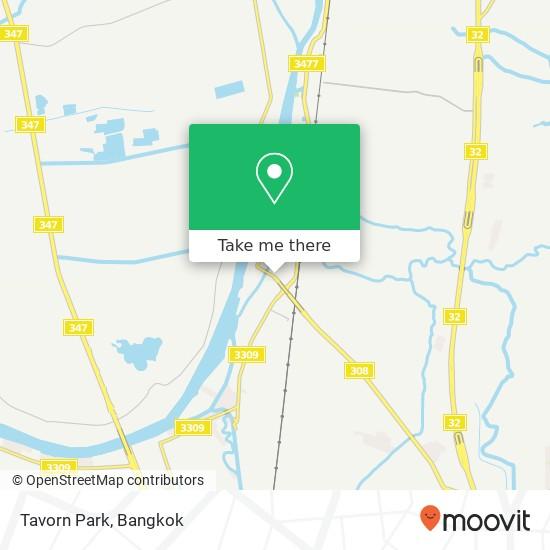 Tavorn Park map
