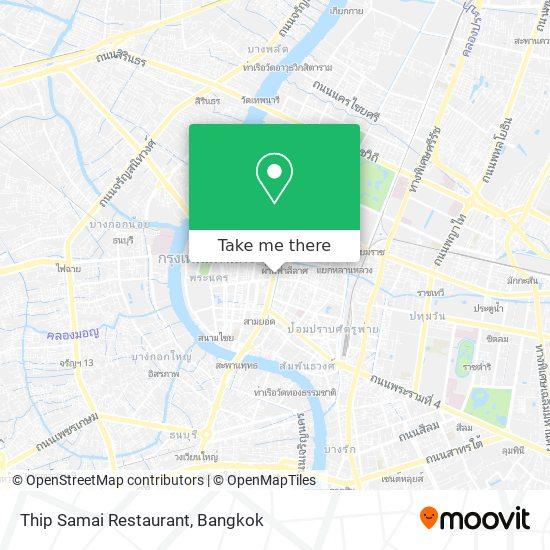 Thip Samai Restaurant map