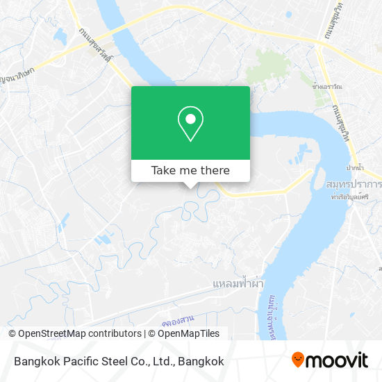 Bangkok Pacific Steel Co., Ltd. map