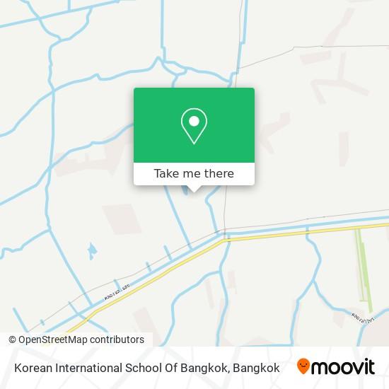 Korean International School Of Bangkok map