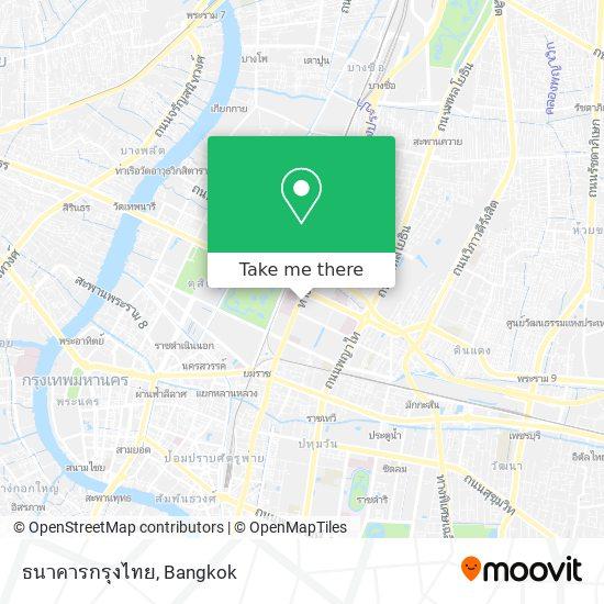 ธนาคารกรุงไทย map