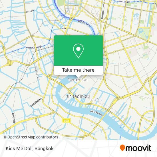 Kiss Me Doll map