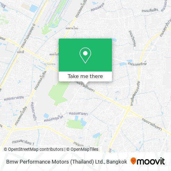 Bmw Performance Motors (Thailand) Ltd. map