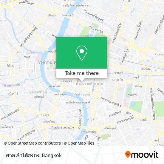 ศาลเจ้าไต้ฮงกง map