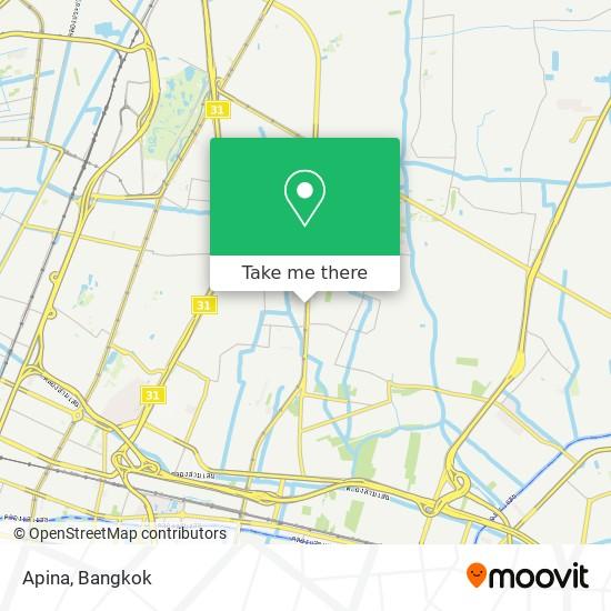 Apina map