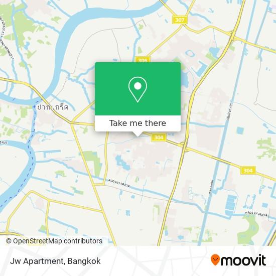 Jw Apartment map