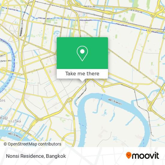 Nonsi Residence map