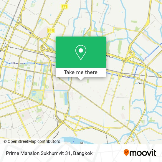 Prime Mansion Sukhumvit 31 map