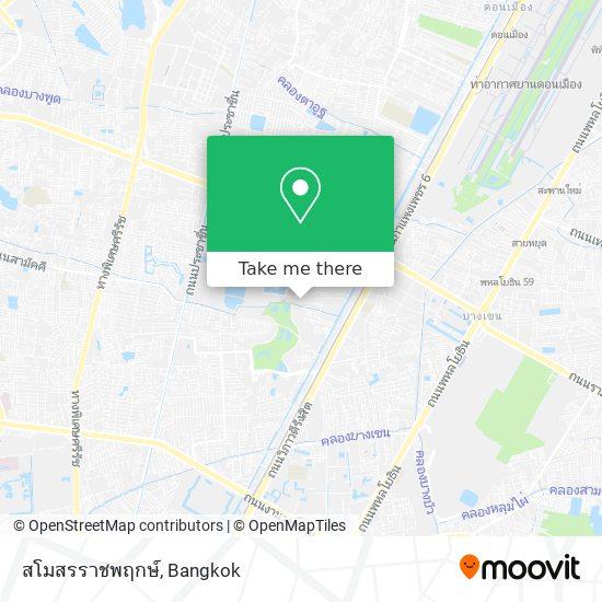 สโมสรราชพฤกษ์ map