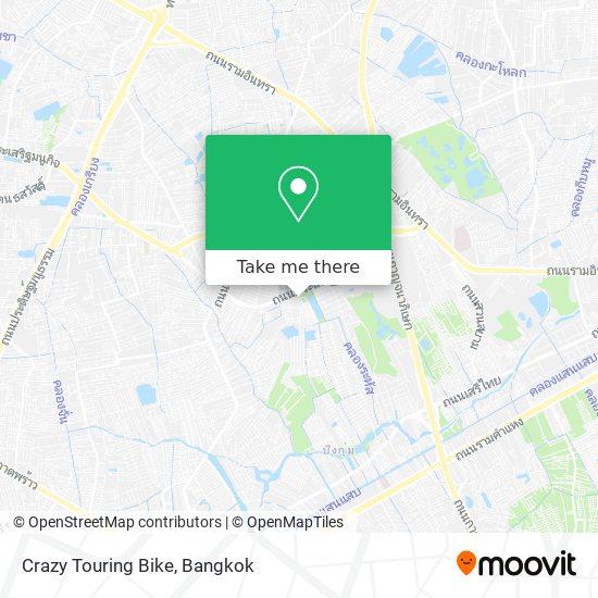 Crazy Touring Bike map