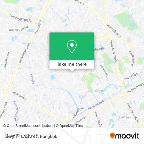 มิตซูบิชิ นวมินทร์ map