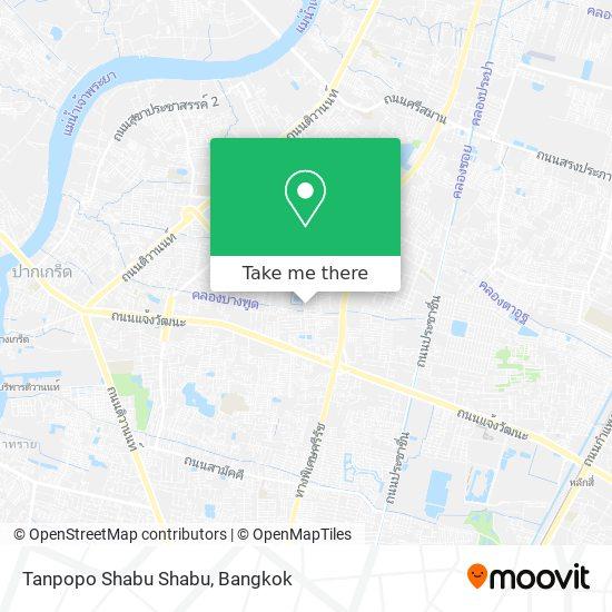 Tanpopo Shabu Shabu map