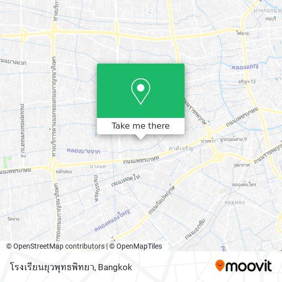 โรงเรียนยุวพุทธพิทยา map