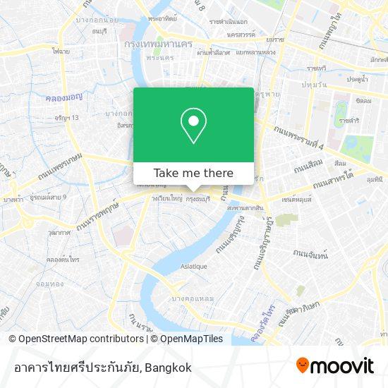 อาคารไทยศรีประกันภัย map