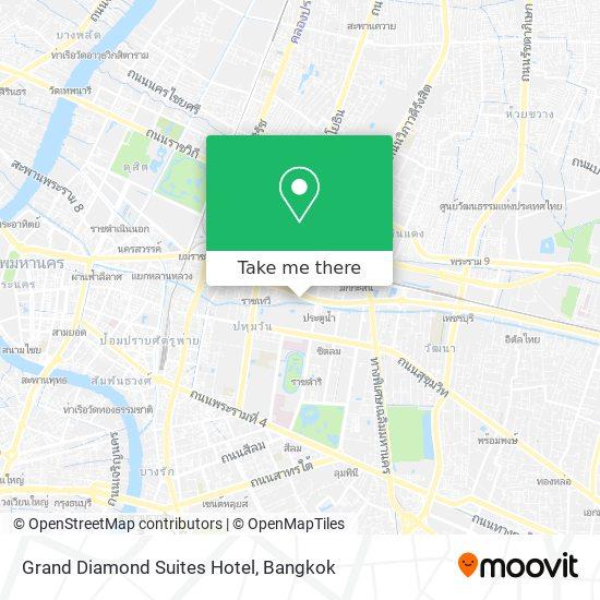 Grand Diamond Suites Hotel map