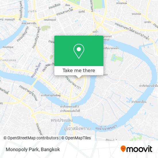 Monopoly Park map