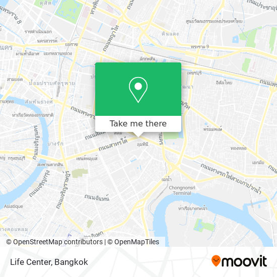 Life Center map
