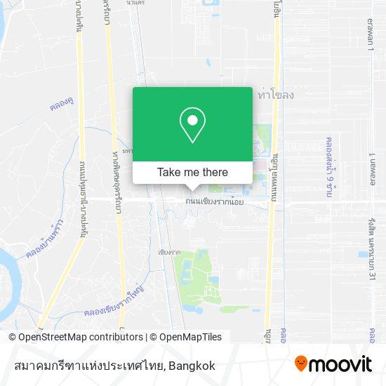 สมาคมกรีฑาแห่งประเทศไทย map
