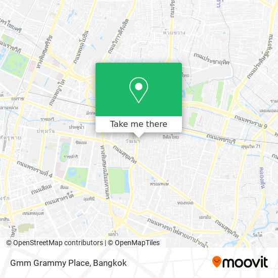 Gmm Grammy Place map