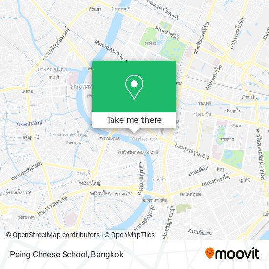 Peing Chnese School map