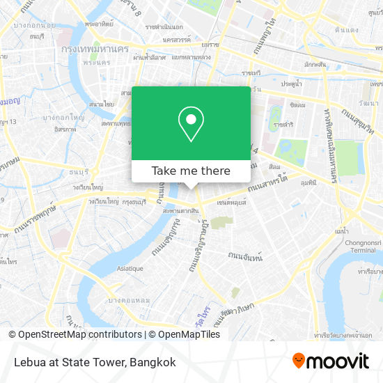 Lebua At State Tower map