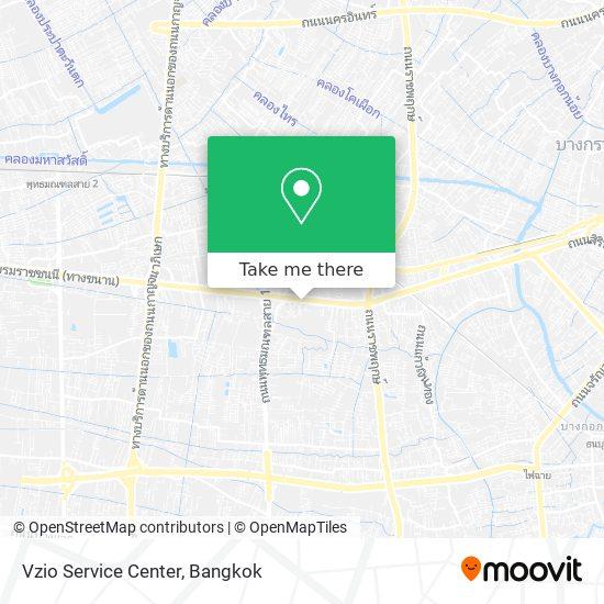 Vzio Service Center map