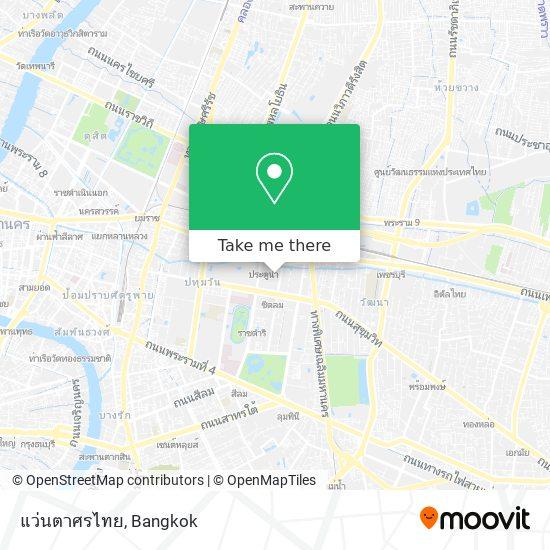 แว่นตาศรไทย map
