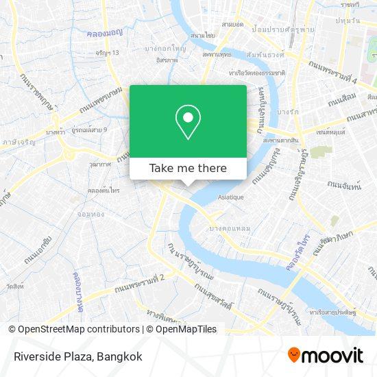 Riverside Plaza map