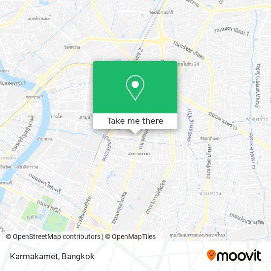 Karmakamet map