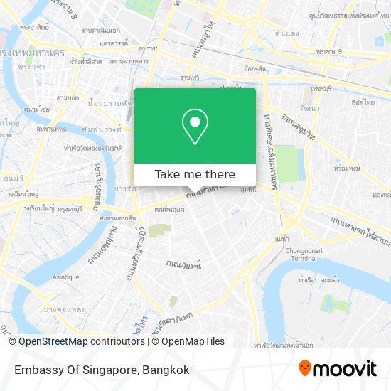 Embassy Of Singapore map