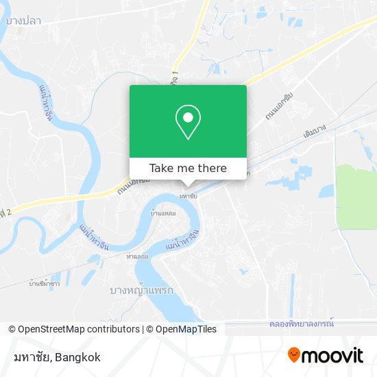 มหาชัย map