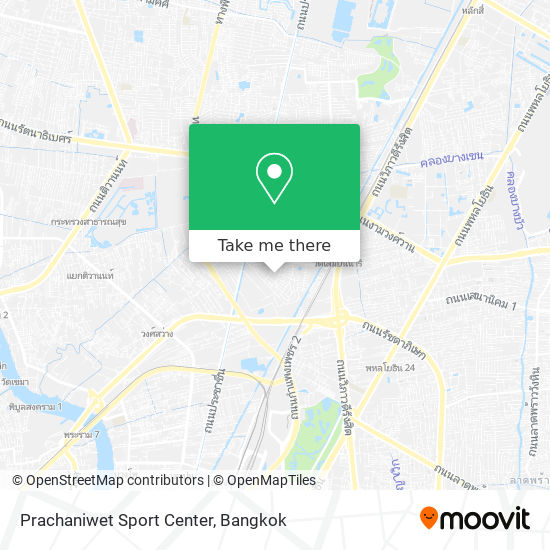 Prachaniwet Sport Center map