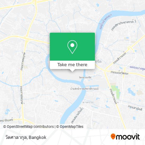 วัดศาลากุล map