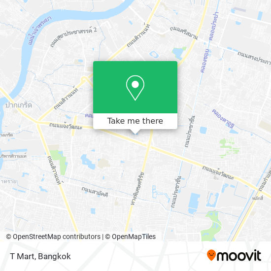 T Mart map