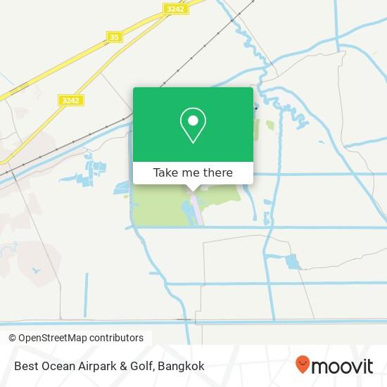 Best Ocean Airpark & Golf map
