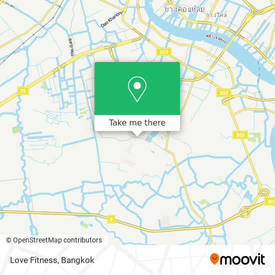 Love Fitness map