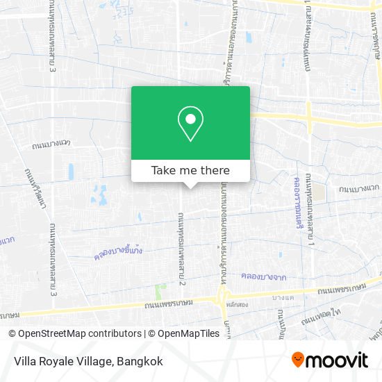 Villa Royale Village map