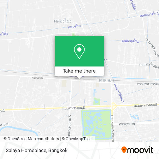 Salaya Homeplace map