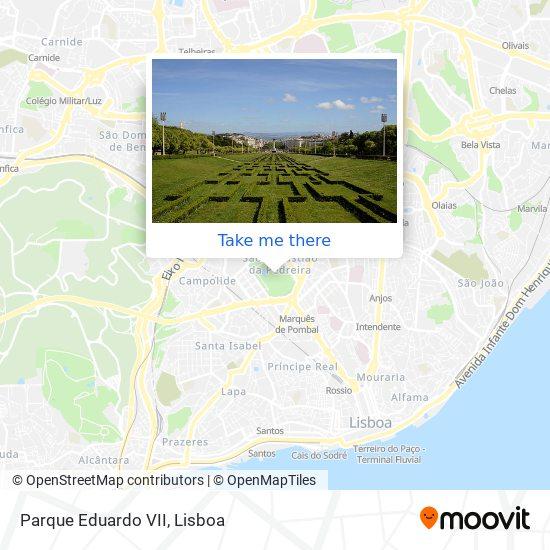 Parque Eduardo VII map