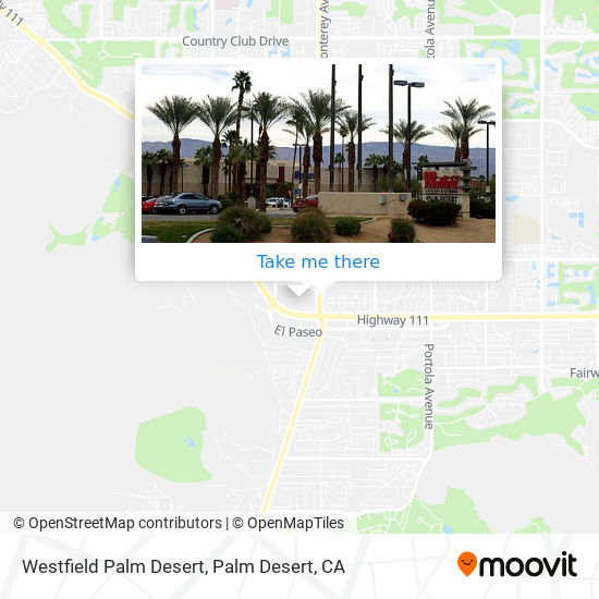 How To Get To Westfield Palm Desert In Palm Desert By Bus Moovit