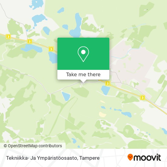 Tekniikka- Ja Ympäristöosasto map