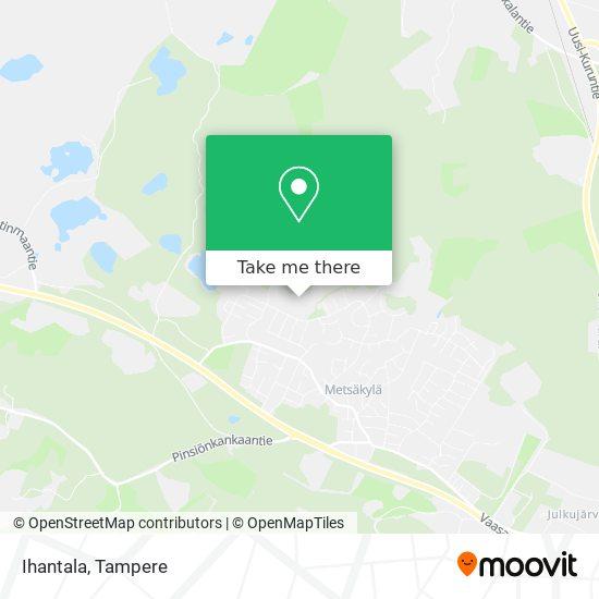 Ihantala map