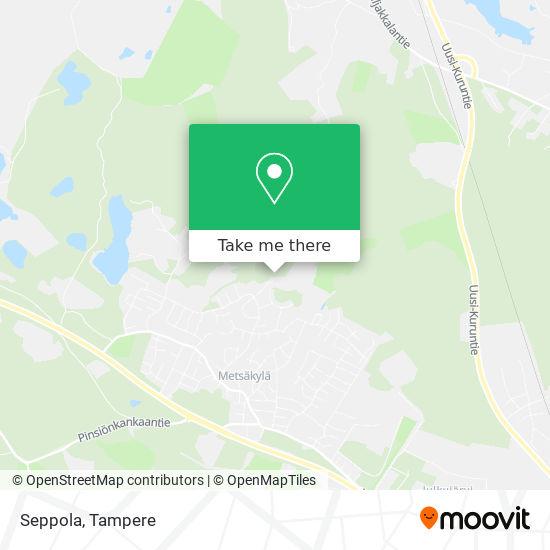 Seppola map